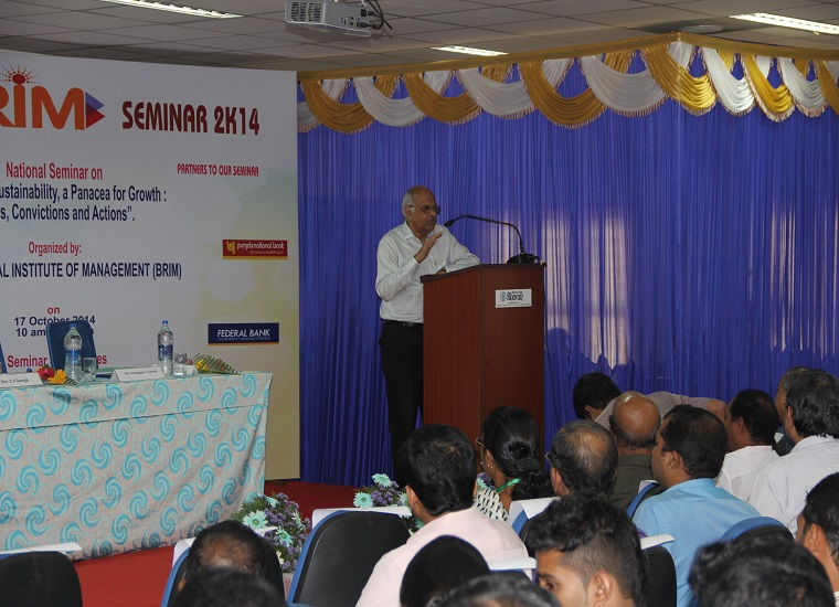 Session with Mr.Venugopal C Govind